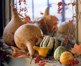 Fall Rustic Garden Decor