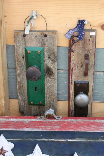 Vintage Door Knob Decor