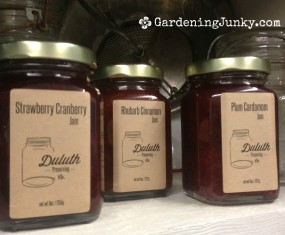 Duluth Preserving Company Jams