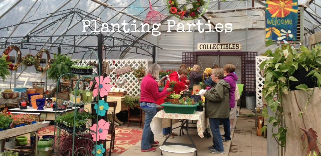 Gardening Junky Planting Parties