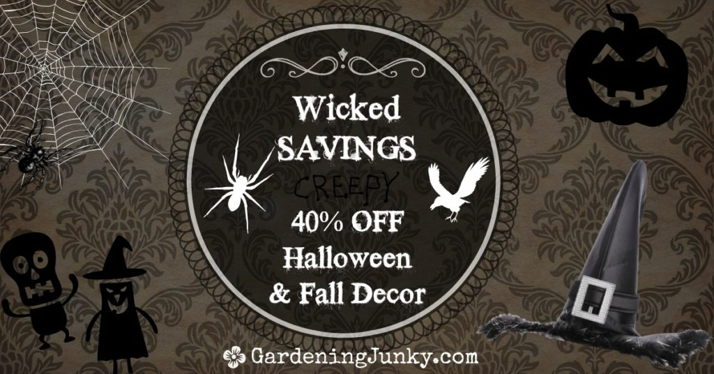Wicked Savings on Halloween & Fall Decor