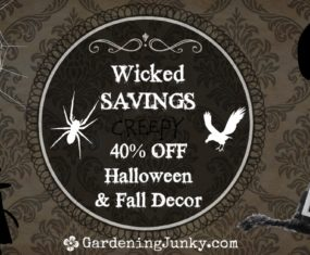 Wicked Savings on Halloween & Fall Decor!