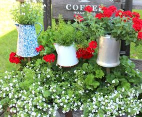 Rustic Garden Ideas